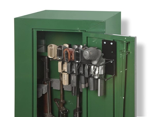 5 Pistol Gun Holster In Safe Handgun Rack Storage