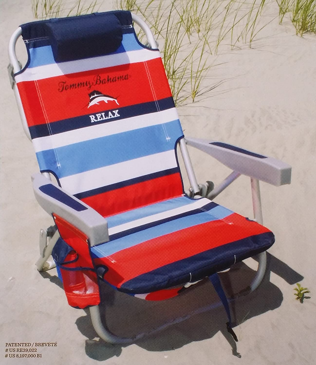 tommy bahama beach chair uk cover hire belfast 2016 backpack cooler with storage pouch