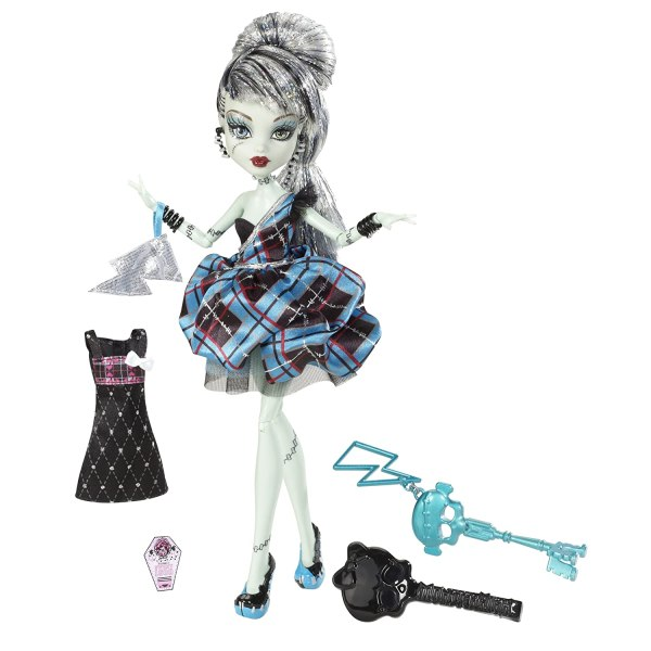 Nib Monster High Sweet 1600 Clawdeen & Clawd Wolf Draculaura Frankie Stein