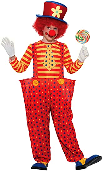 Forum Novelties Hoopy the Clown Child Costume, Large