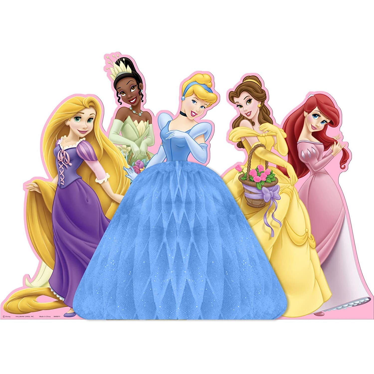 Disney Princess Birthday Party Table Centerpieces