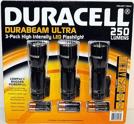 duracell durabeam ultra flashlights