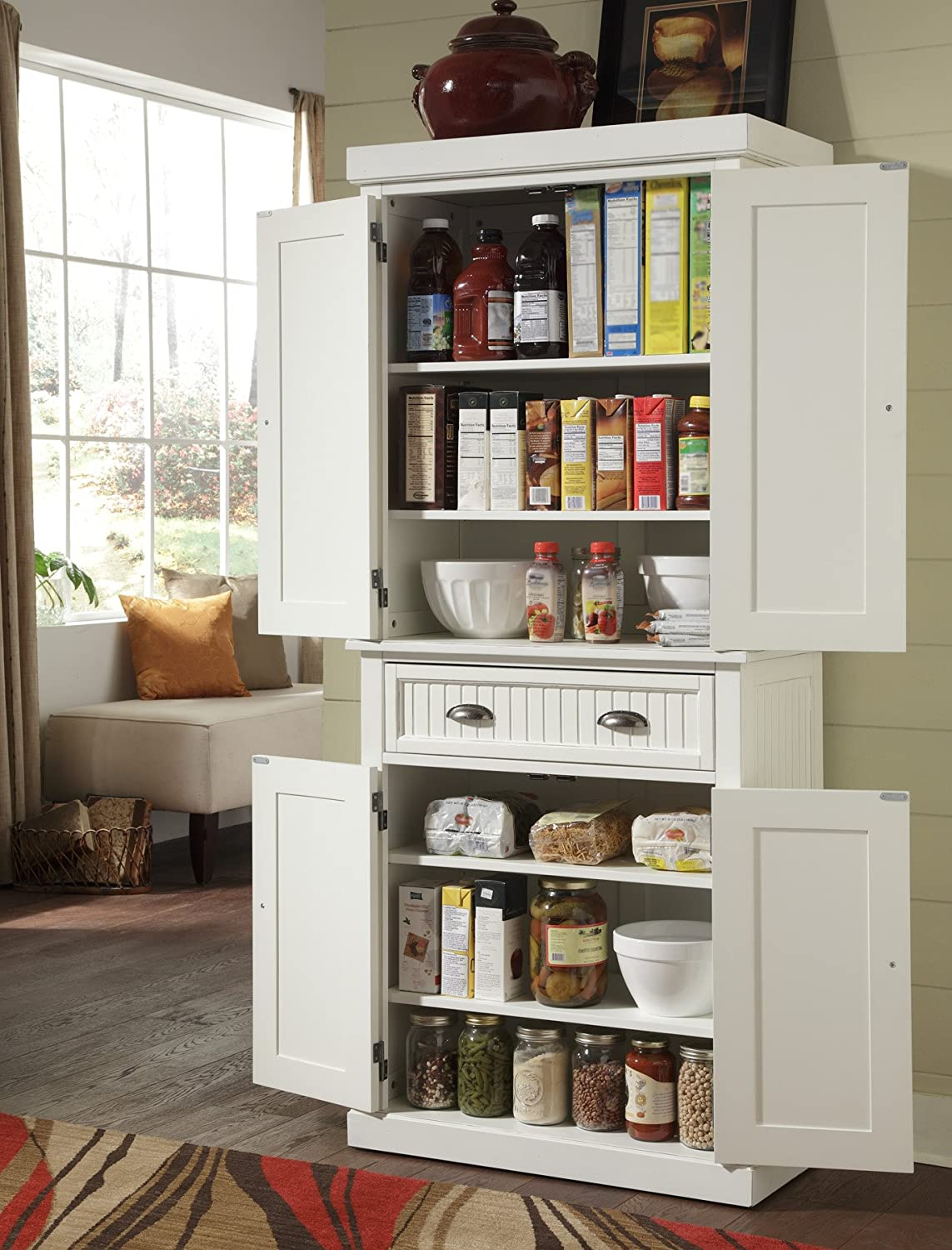 amazon kitchen cabinets pot hangers pantry freestanding with free standing
