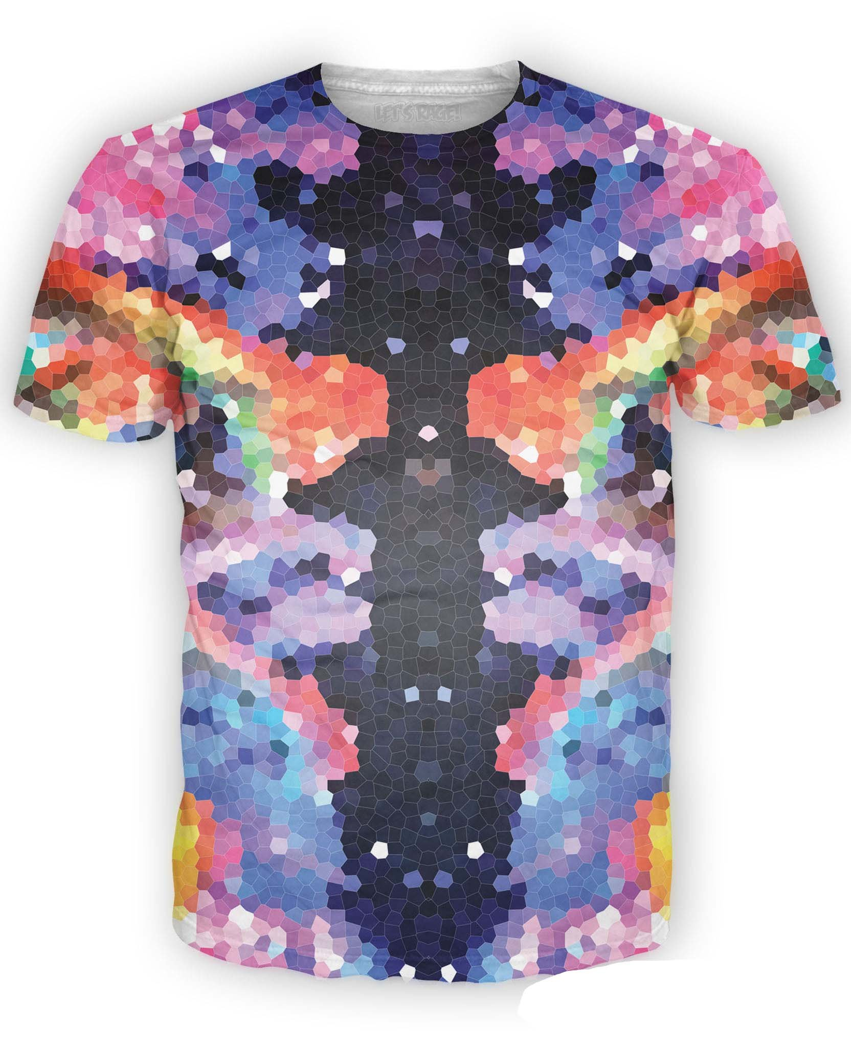 Crystal Symmetry Tee Shirt