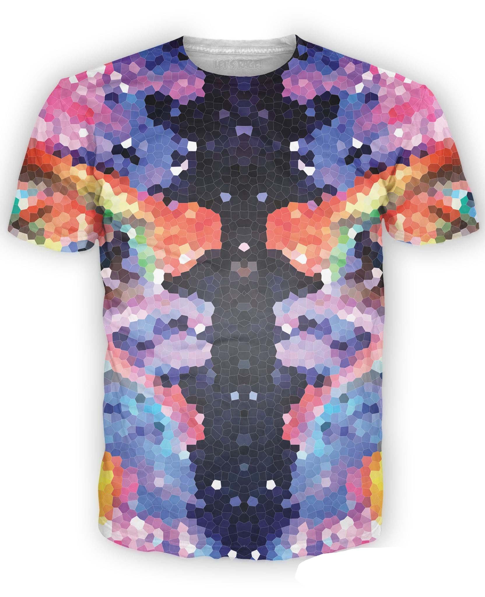 Crystal Symmetry Tee Shirt