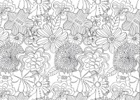 Free coloring pages of anti stress book