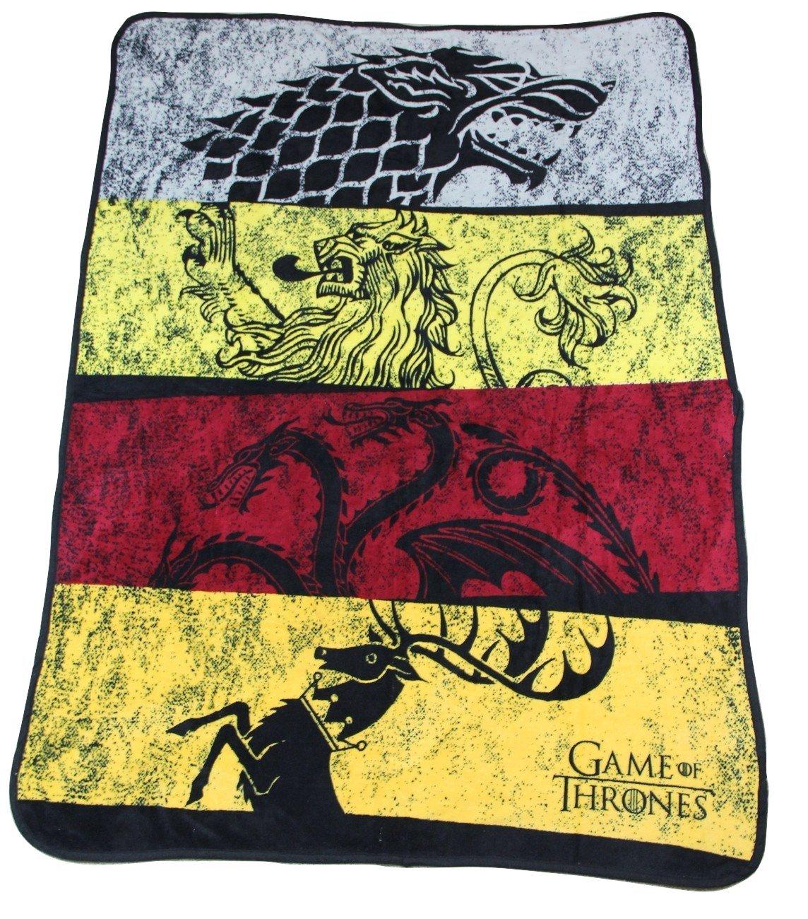 "Game of Thrones Soft Fleece Throw Blanket 46"" x 60"""