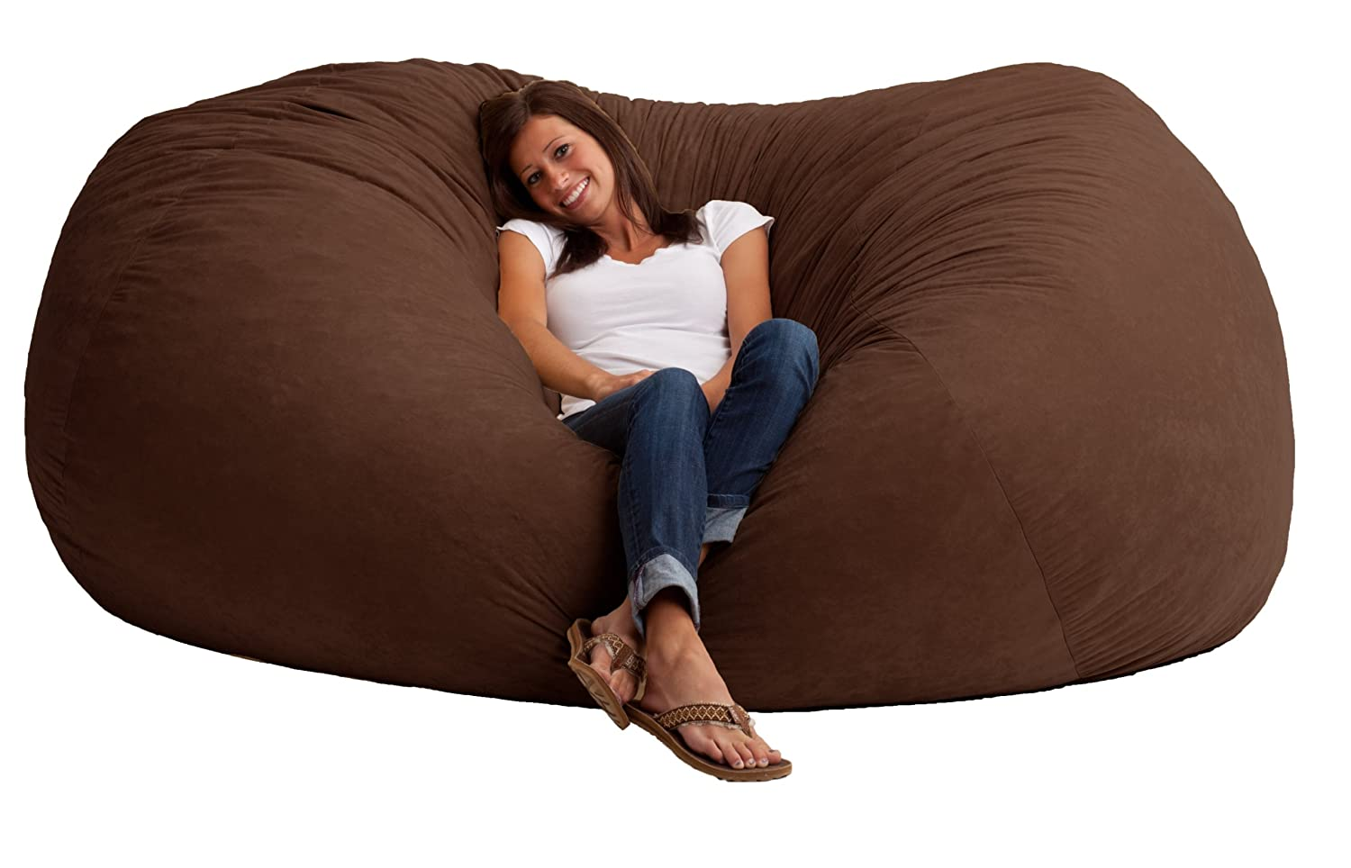 Bean Bags Chair Chair Sofa Oversized Furniture Recline Comfort Seat Lounge