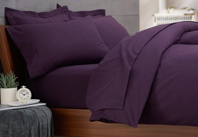 King Bedding Purple