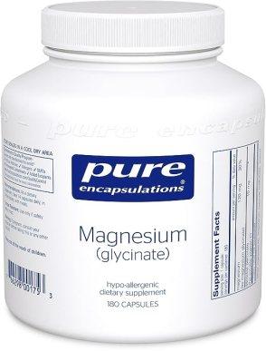 Pure Encapsulations - Magnesium (glycinate) 180's