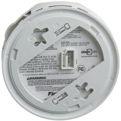 Wiring Diagram For Interconnected Smoke Detectors Caravan Reversing Camera First Alert Sa521cn Hardwire Wireless