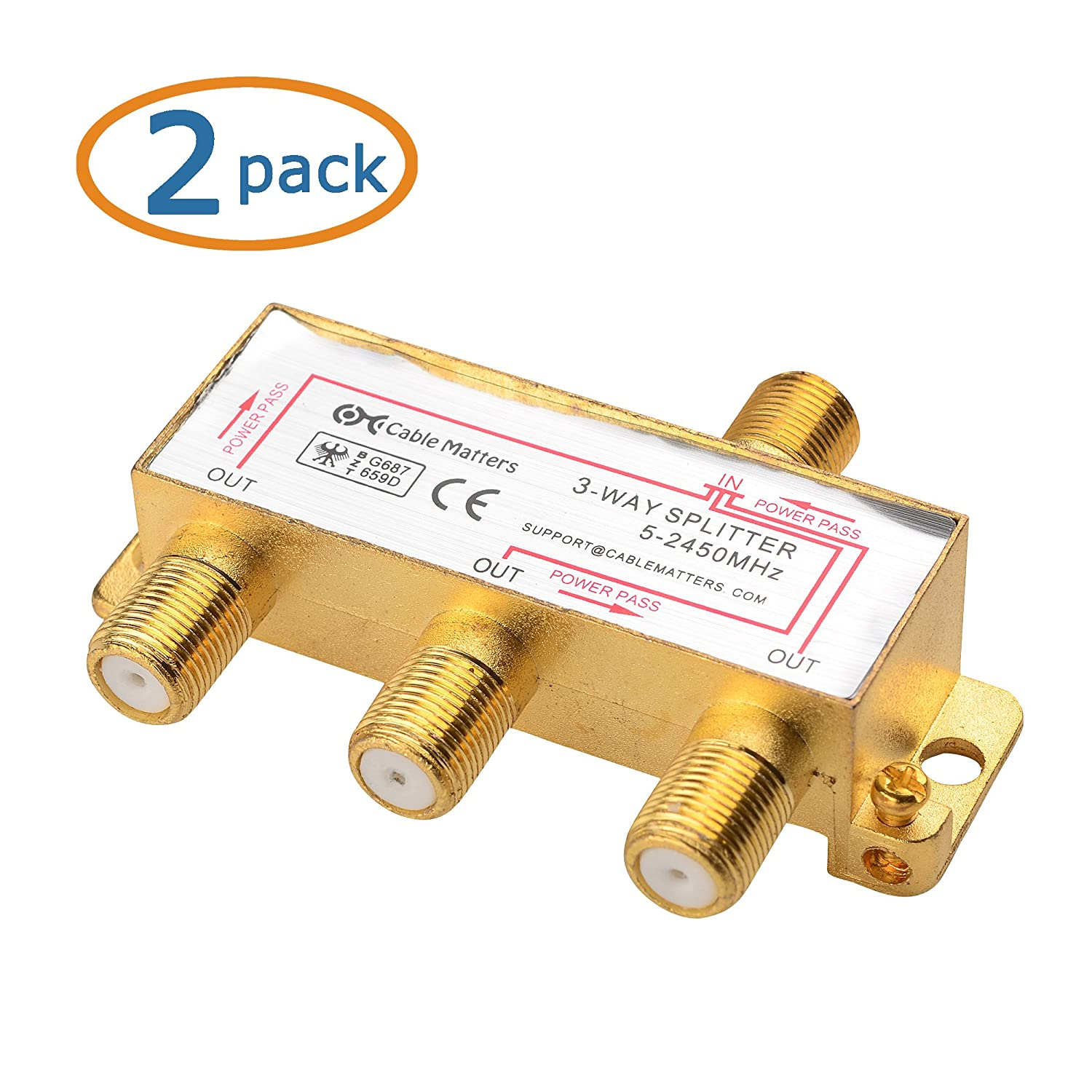 2 way splitter to kill a mockingbird plot diagram cable matters pack gold plated 3 4 ghz coaxial