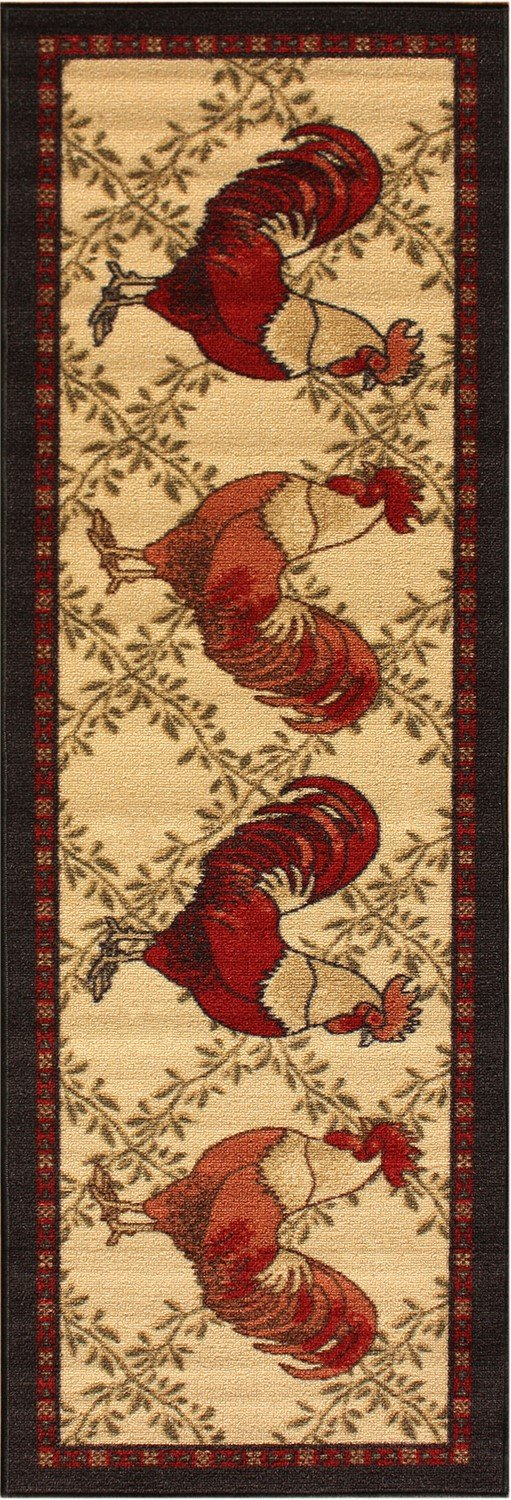 rooster rugs for kitchen remodel design cost | webnuggetz.com