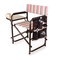 Portable Picnic Chair Swivel That Locks Lightweight Camping Beach Backyard Folding