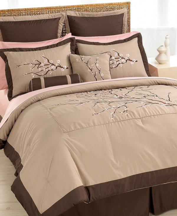 Cherry Blossom Comforter Bedding Set