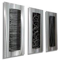 Abstract Metal Wall Art Panels: Beautiful and Elegant