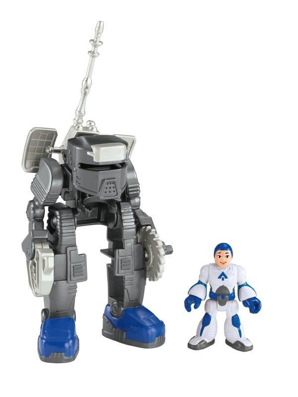 Imaginext Alpha Exosuit & Space Figure Kids