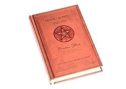謎の書! アンティーク 洋風 日記 帳 A6 サイズ