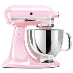 Pink Kitchen Aid Mixer Appliance Kitchenaid Artisan 5 Quart Stand Ksm150pspk