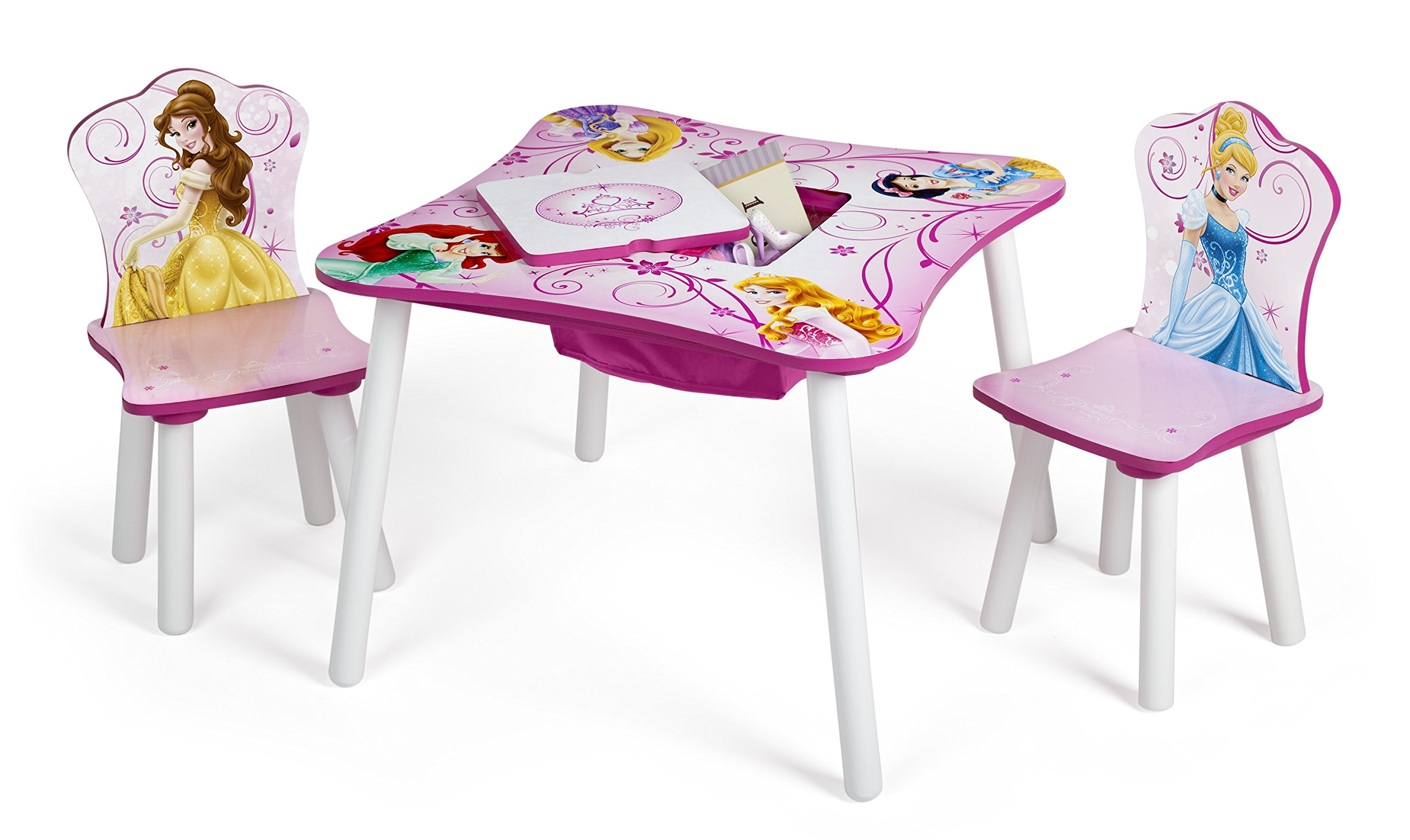 Princess Chairs For Toddlers Delta Children Table And Chair Set With Storage Disney