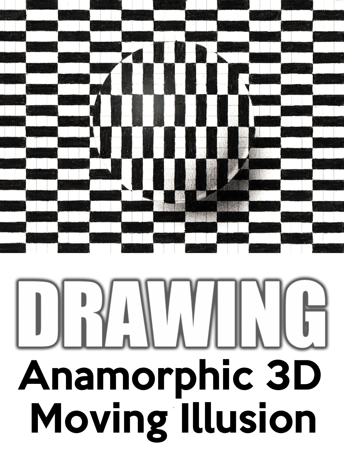 Watch Clip Drawing Anamorphic 3d Moving Illusion On