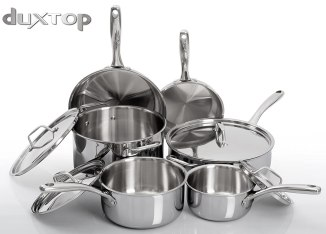 Duxtop Whole-Clad Tri-Ply Stainless Steel Induction Ready Premium Cookware