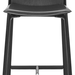 24 Inch Counter Chairs Step Stool Chair Canada Safavieh Home Collection Callie Black Leather