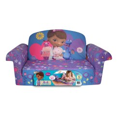 Doc Mcstuffins Chair Smyths Black Covers With Blue Sash Fun Sofa Beds For Kids And Teens Christmas Gifts