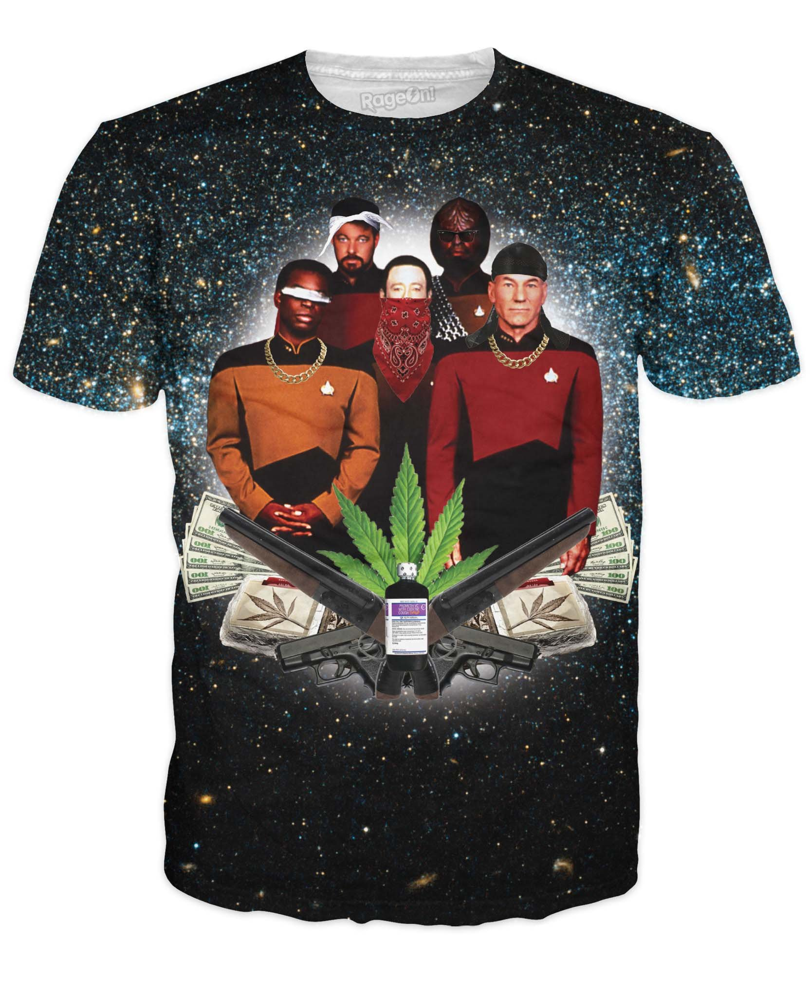 RageOn Men's Star Trap T-Shirt
