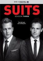 Suits seizoen 3 DVD-cover