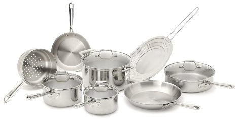 pro-clad stainless steel cookware
