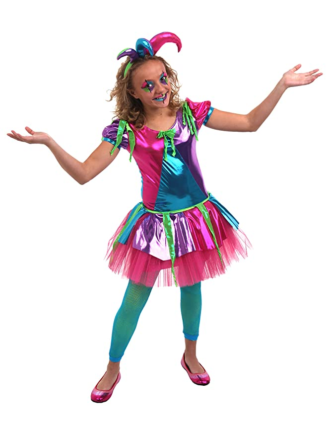 Princess Paradise Women's Juliet The Jester, Multi, Tween 14/16