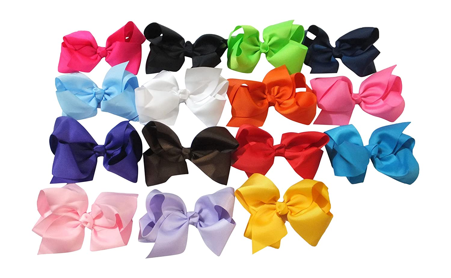 Amazon – HIGHLY Rated Large Boutique 5.5in Hair Bows for Teens Women Girls  Baby Gifts 15pcs just  10.99 (reg  29.99 !)! f3e577b6a41