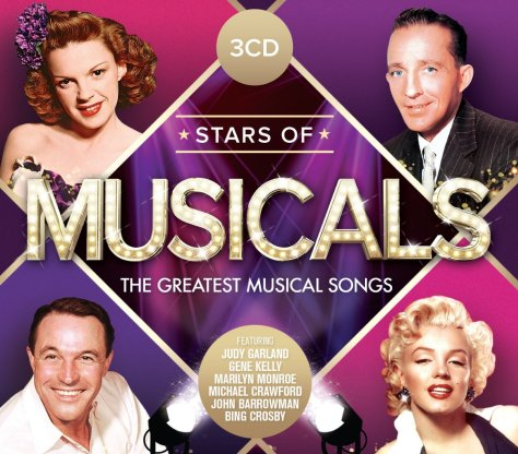 VA-Stars Of Musicals The Greatest Musical Songs-3CD-FLAC-2015-NBFLAC Download