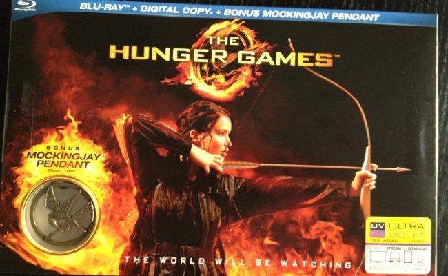 The Hunger Games Bluray Box Set Bonus Limited Edition