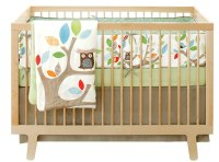 Soho Owl Tree Party Crib Bedding - Baby Bedding and ...