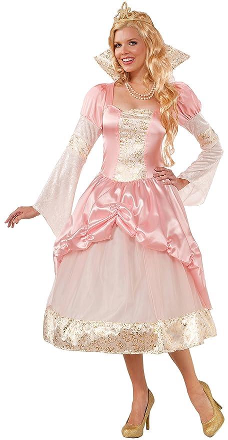 Forum Novelties Women's Halloween Couture Priscilla Costume, Pink/White, X-Small/Small
