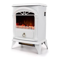 Electric Fireplace Stove Heater Portable Standing Vintage