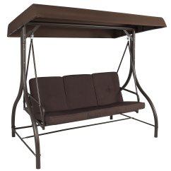 Swing Chair Garden B&m And A Half Sleeper Sofa Outdoor Canopy Yard Bench Porch Glider