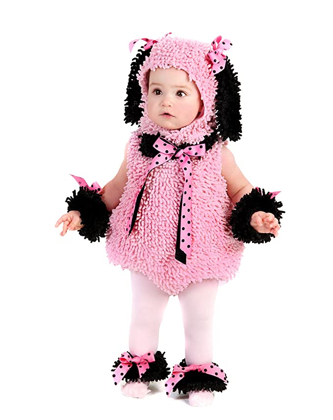 Princess Paradise Pinkie Poodle Costume, X-Small/4, One Color