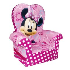 Minnie Mouse Upholstered Chair Big And Tall Dining Chairs Furniture Totally Kids Bedrooms