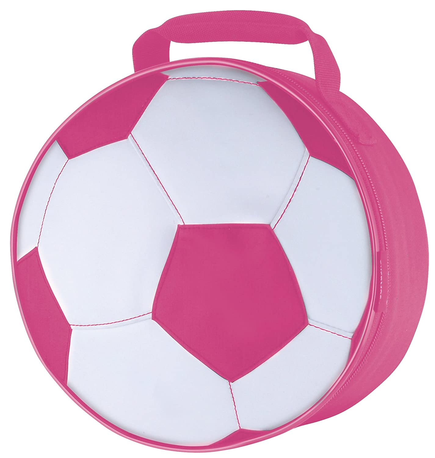 Thermos Novelty Soft Lunch Kit, Pink Soccer Ball