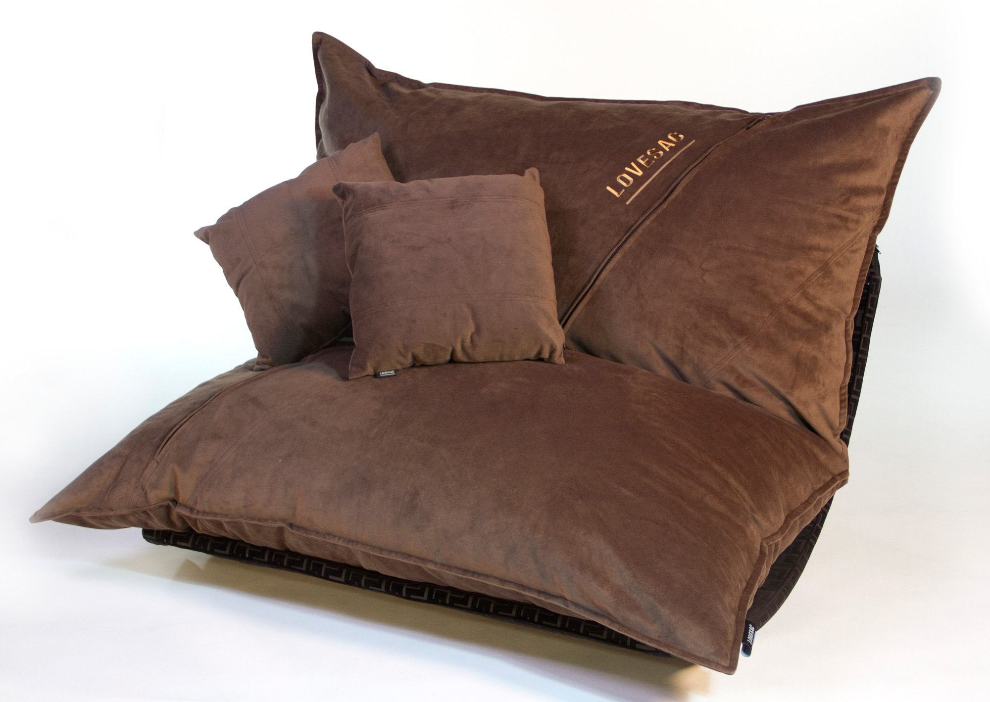 oversized chair cushions gaming accessories coffee velvish pillowsac package original sac