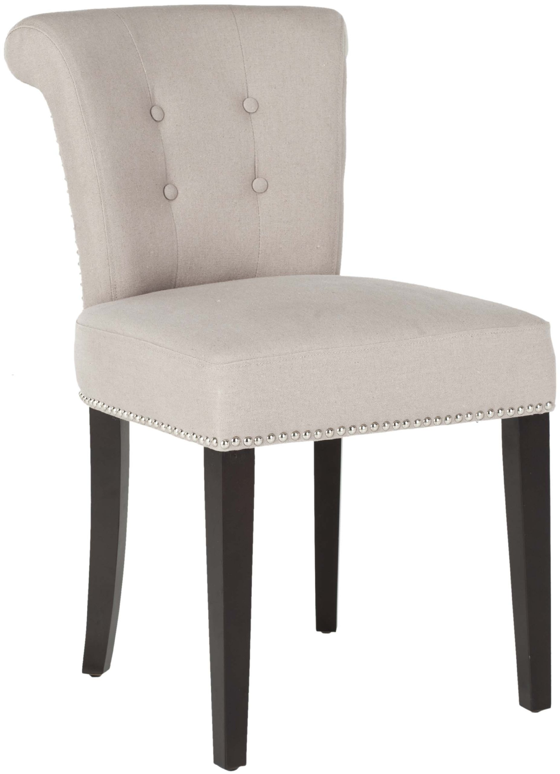 Taupe Dining Chairs Safavieh Mercer Collection Carol Taupe Linen Ring Dining