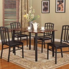 Black Walnut Kitchen Table Cabinets Refacing Cost Simple Assembly Required