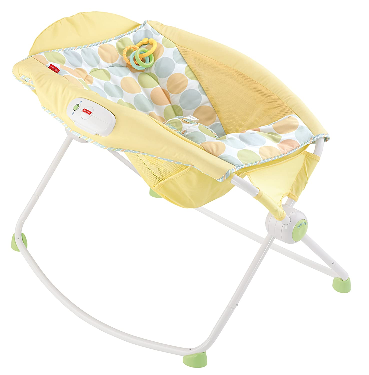 calming vibrations baby chair toys r us chairs portable sleeper inclined vibrating rocker newborn