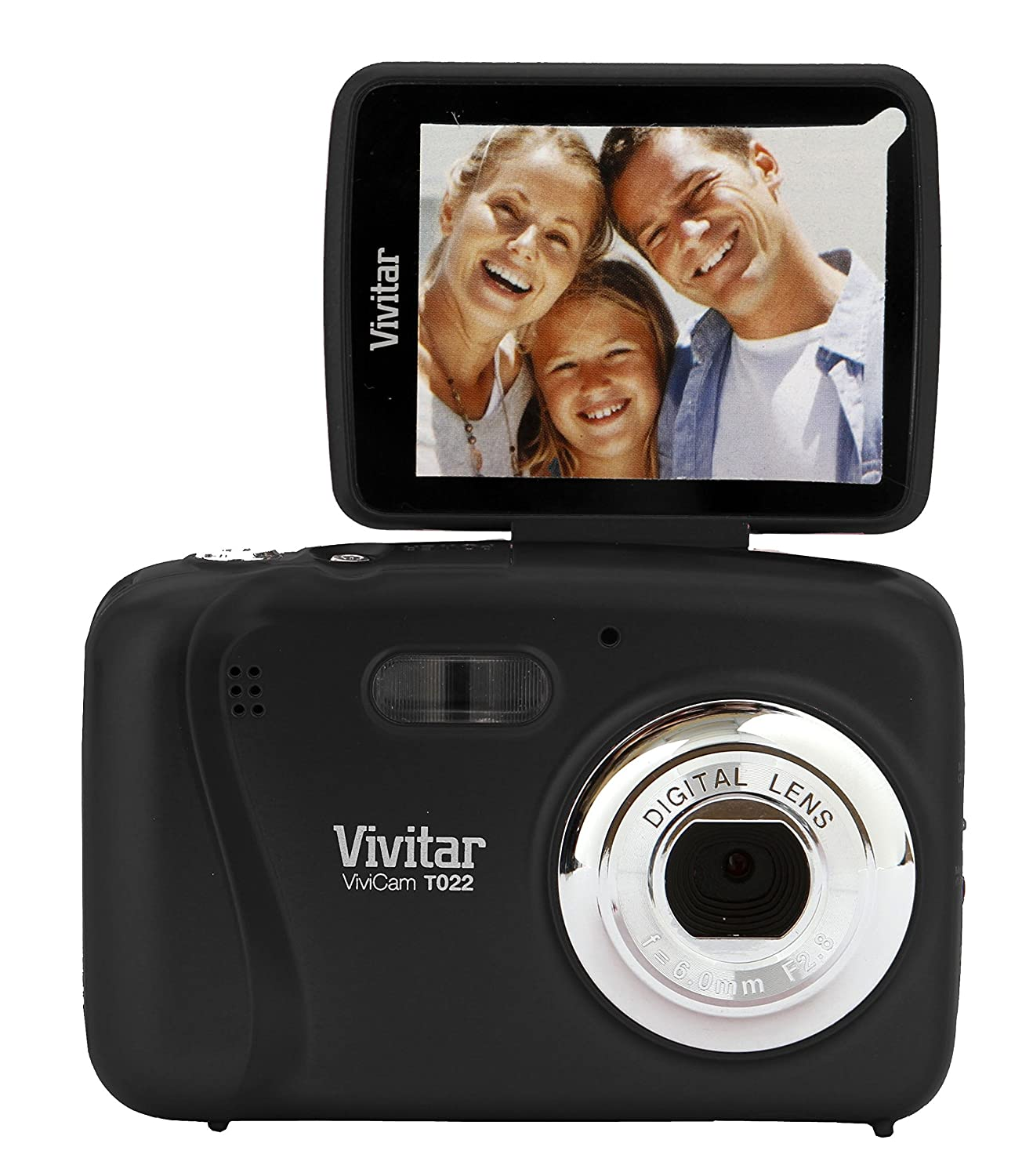 Vivitar VX028 14.1MP Digital Selfie Camera