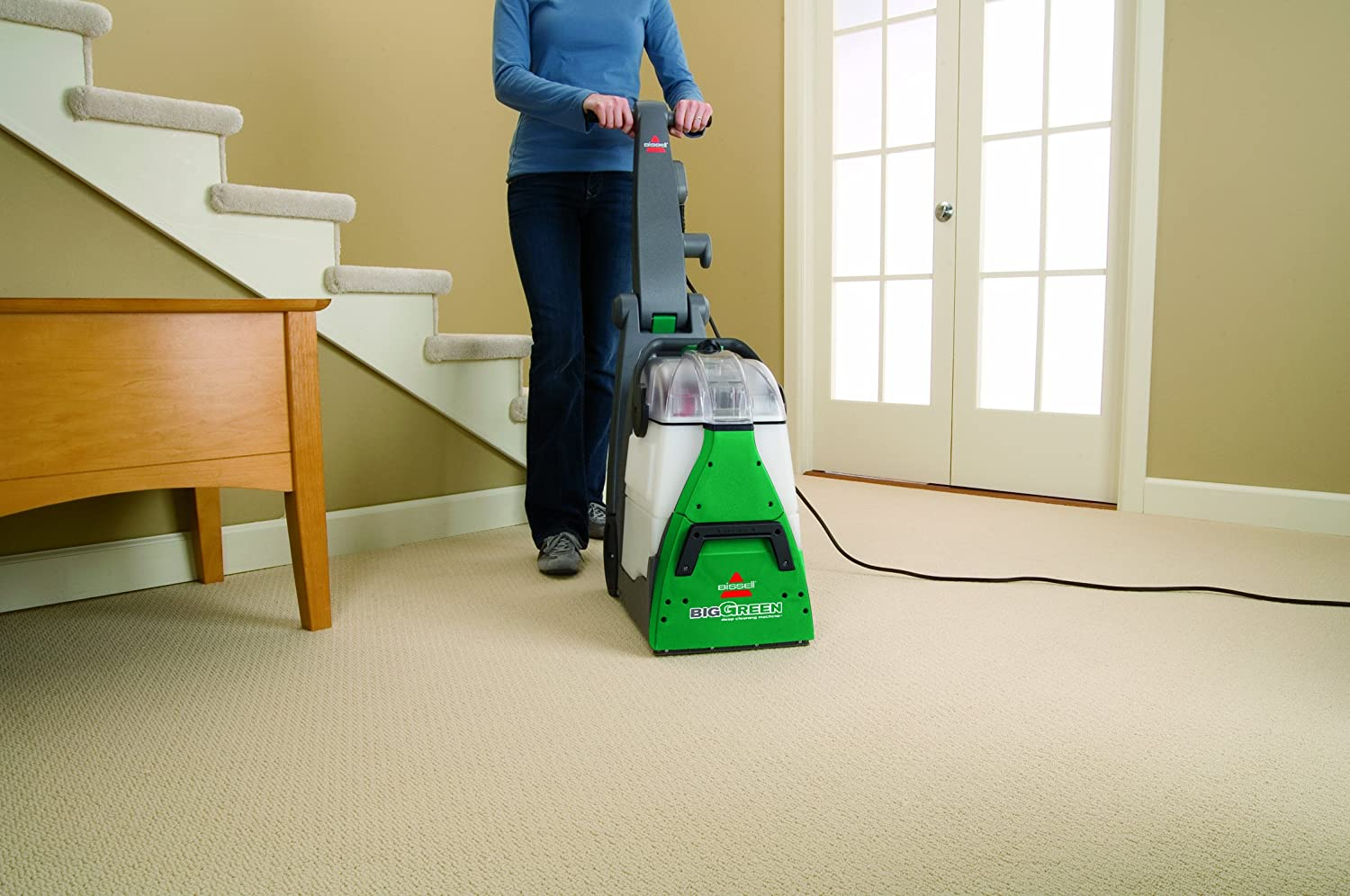sofa cleaning machine hire sofascore bissell big green carpet cleaner review 2016