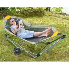 Hammock Chair Stand Amazon Adirondack Chairs Target Australia Portable Folding Oversized Swing Camping