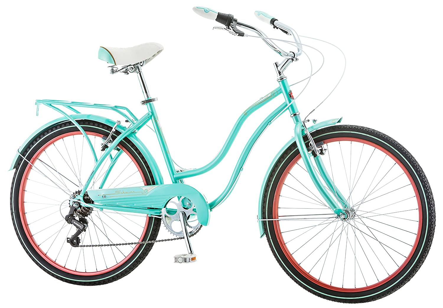 Schwinn Ladies Perla 7 Speed Cruiser Bicycle